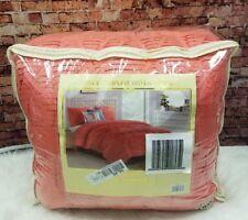 Jessica Sanders Origami 4-Piece Twin Comforter Coral Pink