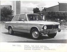 BMW 1502 Press Photograph Circa 1975