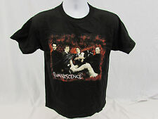 Evanescence rock band concert t-shirt size youth Large