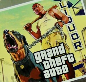 GRAND THEFT AUTO Video Game Fridge Magnet Gift New House Apartment College Dorm