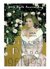 MODERN GEMS - Maldives - Princess Diana 40th Birth Anniversary - S/S - MNH