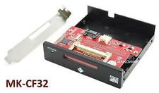 """SATA to CompactFlash/SSD 3.5"""" Front Panel Adapter for Desktop PC w/ Bracket"""