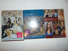 Lot of 3 Gossip Girl Seasons 2 3 4 Mixed Lot FACTORY SEALED TV Show Boxset NEW *