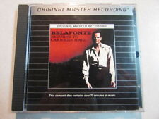 HARRY BELAFONTE RETURNS TO CARNEGIE HALL ORIGINAL MASTER RECORDING SILVER CD OOP