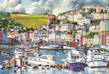 GIBSONS BRIXHAM MARINA 500 PIECE JIGSAW PUZZLE - DEVON G3108 - NEW SEALED