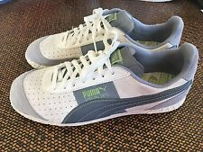 Women's Puma Special 2871 Leather Sneaker 7 White Gray Clean Rare Vintage