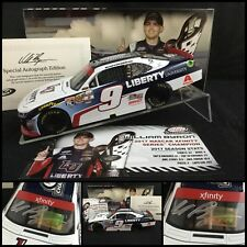 2017 WILLIAM BYRON Autographed #9 LIBERTY UNIVERSITY XFINITY CHAMP 1/24 W/COA