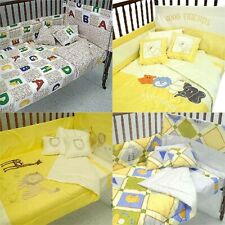nEw Nursery Crib Bedding Set - Baby Comforter Sheets Accessories Bed-in-a-Bag