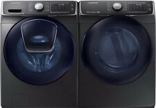 Samsung 5.0 cf Addwash Front Load Washer & 7.5 cf  Electric Dryer Laundry Set