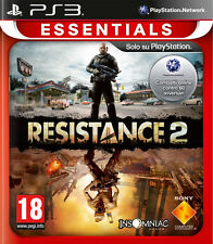 Essentials Resistance 2 PS3 Playstation 3 IT IMPORT SONY COMPUTER ENTERTAINMENT