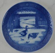 Royal Copenhagen 1969 Christmas Plate - In the Old Farmyard - Ce 00004000 ramic