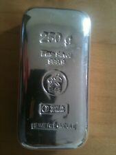 999 Silber 250g Gussbarren Heimerle + Meule