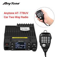 AnyTone AT-778UV Dual Band 25W Portable Car Mobile Radio Ham 2 Way Transceiver