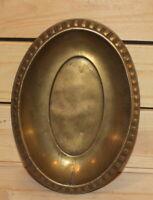 Antique hand made brass bowl