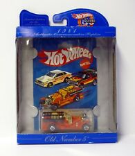 HOT WHEELS OLD NUMBER 5 #1695 30 Year Anniversary Replica Die-Cast Car MISB 1997