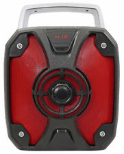 "Rockville ROCKBOX 6.5"" 100w Rechargeable Bluetooth Rugged Jobsite Speaker USB/SD"