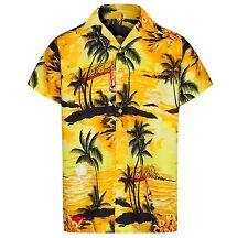 MENS HAWAIIAN SHIRT ALOHA THEMED PARTY SHIRT HOLIDAY BEACH FANCY DRESS STAG DO