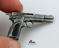 1:6 Scale M1935 Browning MK3 Pistol Weapon Gun Model Figure Accessories