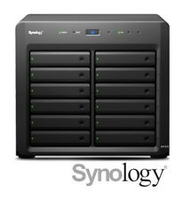 €849+IVA SYNOLOGY DX1215 Expander Unit 12-Bay SATA (Open Bay) 1x InfiniBand