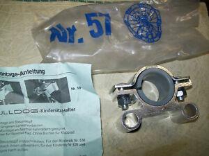 original 57  Bulldog Halterung für Kindersitz Oldtimer Fahrrad #part