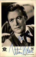 Autogrammkarte Autograph Bühne Film handsigniert CLAUS HOLM Orig.Autogramm ~1955