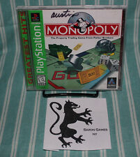 Monopoly PS1 COMPLETE CIB GH Sony Playstation Parker Bros Free Shipping  Hasbro
