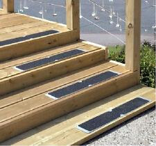 4 X ALUMINIUM ANTI SLIP PLATE FOR DECKING BOARD STEPS 635 X 62.5MM NEW