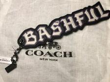 COACH BASHFUL Disney Snow White Bag Charm Key Ring NWT!