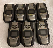 Lot Of(7) SANYO E4100 TAHO CELL PHONE (SPRINT) - MILITARY RUGGED