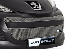 Zunsport Argento Anteriore Griglia per Peugeot 207 2009-12 Restyling ZPE39509