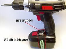 Bit Buddy cordless drill tool belt holder screw wristband magnet pouch bags bag
