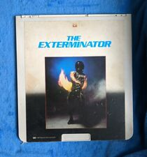 THE EXTERMINATOR CED Videodisc 1980 Cult Crime Thriller Christopher George