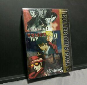 Gungrave Trigun Hellsing Collector's Pack 3 Vol 3 Box Set - R1 Anime DVD
