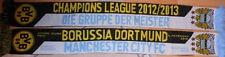 Schal + Champions League + Borussia Dortmund vs Manchester City + 150x16 cm NEU