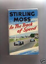 En la pista de velocidad Firmado bystiring Moss & Esposa