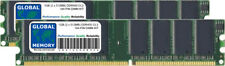 1GB (2 x 512MB) DDR 400MHz PC3200 184-Pin memoria DIMM Kit RAM per Desktop / PZ