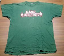 Dark Millennium T-Shirt M/L 90'er Death Morgoth Edge of Sanity Paradise Lost RAR