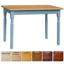 Blau Esstisch Küchentisch Tisch MASSIV KIEFER HOLZ Landhausstil - NEU
