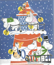 Moomin Christmas Advent Calendar with Plastic Figures Martinex
