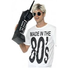 Inflatable 80s Cell Phone Funny Adult Costume Accessory Fancy Dress