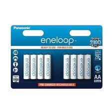 Piles batteries AA Panasonic eneloop BK-3MCC 8x