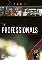 THE PROFESSIONALS COMPLETE SERIES 2 DVD Second 2nd Season Two UK 14 Episod NEW x