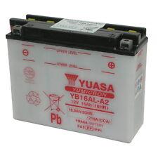 BATTERIA YUASA YB16AL-A2, 16A POSITIVO DX, 207X71.5X164MM, (DUCATI < ANNI 2000)