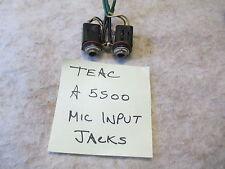 Teac A5500 / A5300 Microphone Input Jacks