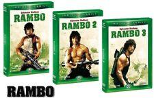 DVD RAMBO le Trilogie 1-2-3 (3 DVD) - Nuova édition NOUVEAU