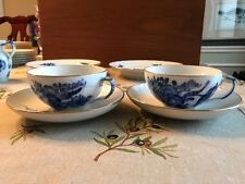 royal copenhagen Blue flowers Braided cup&Sacer for two, unused