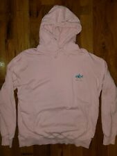 Barney Cools Mens Pink Shark Relax Hoody Sweater Medium