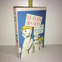 Enid Blyton LE CLAN DES SEPT ET LES BONSHOMMES DE NEIGE Bibl. Rose 1974 ZZ-10023