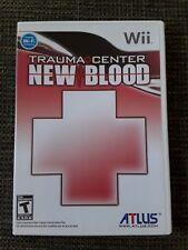 Trauma Center: New Blood Nintendo Wii/Wii U NTSC Version