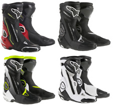 Alpinestars SMX Plus Motorcycle Motorbike Race Boots |Colours & Sizes| + gift